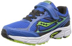 cool Saucony Boys' Cohesion 7 A/C Running Shoe (Little Kid/Big Kid)