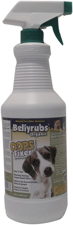 BellyRubs Organic Oops Fixer, 32-oz. Spray * See this great product. (This is an affiliate link and I receive a commission for the sales)