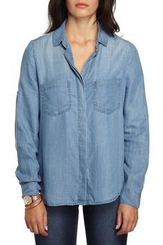 Shop stylish Womens, Mens, Kids, Baby clothes, accessories & more! Denim Button Up, Button Up Shirts, What To Wear, Kids Outfits, Stylish, Summer, Cotton, Stuff To Buy, Clothes