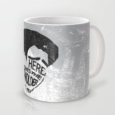 Tangeled.. here comes the smolder.. funny flynn quote.. men.. grey... digital Mug by studiomarshallarts - $15.00
