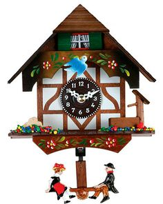 german cuckoo clock-I have wanted one since I was a little girl!