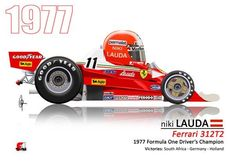 Niki Lauda pilots the Ferrari Maserati, Bugatti, Formula One Champions, Cheap Sports Cars, 2017 Acura Nsx, Ferrari F1, Nissan Gt, Car And Driver, Toys