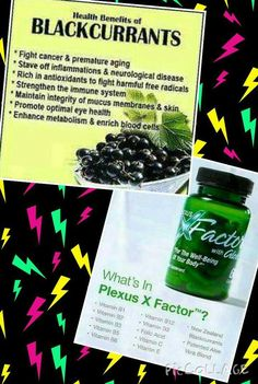 XFACTOR - Good nutrition is the cornerstone of wellness, but effective and absorbable, multi-vitamin supplements can be hard to find. Luckily, Plexus has the solution: Plexus XFactor - Featuring an innovative formula of New Zealand Blackcurrant and vitamins, XFactor is designed to make your family healthier and happier.