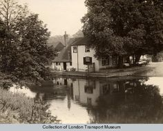 The Swan & Bottle near Uxbridge Canal. Photographed by W Whiffin, 1920…