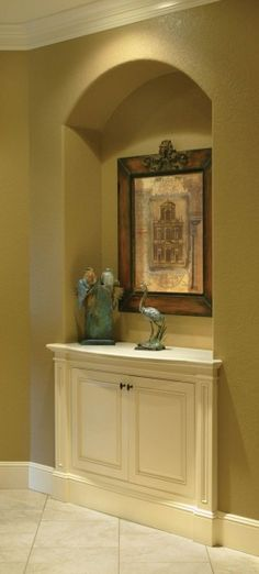ideas about Niche Decor on Pinterest Wall Niches