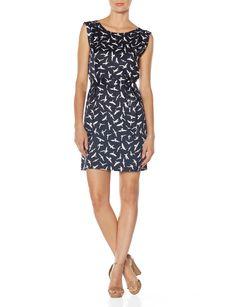 Flying Birds Sleeveless Dress | Women's Dresses | THE LIMITED