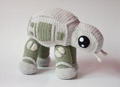 Adorable Star Wars AT-AT Walker Crochet Pattern