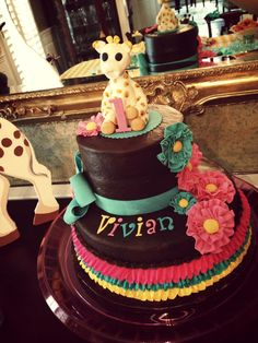 1000+ images about Sophie the Giraffe Birthday on ...