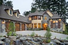 Mascord Plan 2470 - The Rivendell Manor - Storybook Splendor in the Street of Dreams