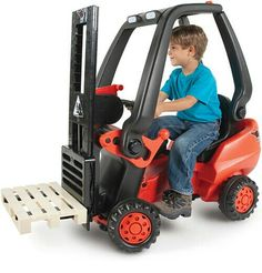 Jonathan would love this kids forklift