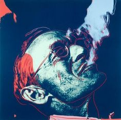 Herman Hesse by Andy Warhol