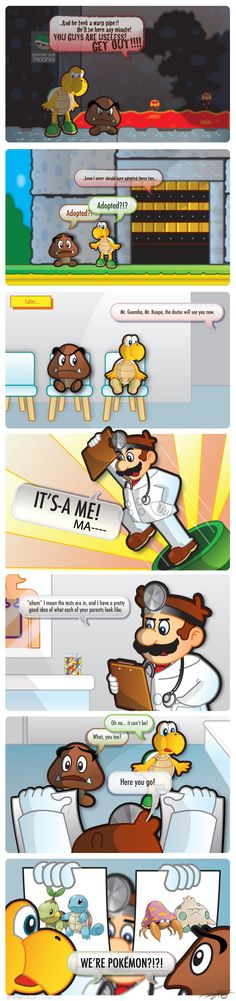 Adopted nintendo