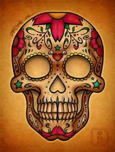 Use The Form Below To Delete This Tattoo Mexican Skull 08 Sugar