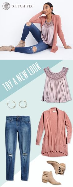 Discover a pressure-free way to experiment with fashion -- Stitch Fix is your partner in personal style. Fill out a detailed Style Quiz and let us know your preferences. A Stylist will curate 5 items and send them to you to try at home. The styling fee is $20, and can be applied to your final order. Keep what you want, send back the rest. Try a new look today at StitchFix.com.