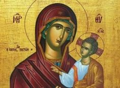The largest collection of hagiographies & hand-made icons from Mount Athos. Unique icons of Theotokos , Jesus Christ and all of the Saints Paint Icon, Byzantine Icons, Orthodox Christianity, Archangel Michael, Christmas Figurines, Blessed Virgin Mary, God Prayer, Orthodox Icons, Kirchen
