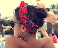 while at the pool... love love