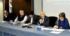 """Mercoledì 24 ottobre si è concluso il ciclo di incontri promosso da Boorea in collaborazione con Legacoop Reggio Emilia """"Reggio Emilia e la crisi italiana."""