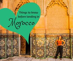 15 Things to know before going to Morocco