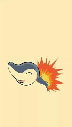 ◾Cyndaquil ( ◾ Type - Fire ━━━━━━━━━━━━━━━━ Cyndaquil protects itself by flaring up the flames on its back. The flames are vigorous if the Pokémon is angry. However, if it is tired, the flames splutter fitfully with incomplete combustion. Pokemon Fan Art, Pokemon Faces, Pokemon Sketch, Pokemon Go, Cute Pokemon Wallpaper, Cute Cartoon Wallpapers, Pokemon Lock Screen, Pokemon Backgrounds, Pokemon Photo