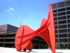 Alexander Calder 'La grande vitesse', Grand Rapids, Michigan