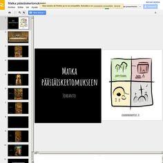 Intro: Matka pääsiäiskertomukseen (klikkaa kuvaa alla) | Pearltrees
