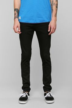 Native Youth Black Skinny Jean