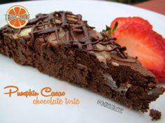 Bodybuilding Pumpkin Cacao Chocolate Torte