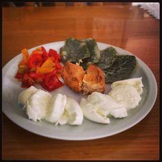 #pranzo con salvia fritta #pane #homemade #glutenfree buon appetito!