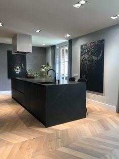 Kitchen Room Design, Kitchen Cabinet Design, Modern Kitchen Design, Interior Design Kitchen, Luxury Kitchens, Home Kitchens, Küchen Design, House Design, Home And Living