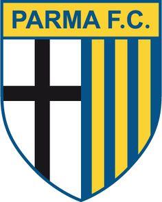 Parma A. old badge Real Madrid Atletico, Jersey Atletico Madrid, World Football, Football Soccer, Soccer Teams, Football Shirts, Logo Club, Parma Fc, Uefa League