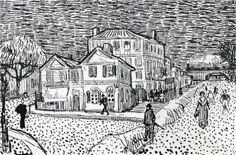 The Artist's House in Arles - Vincent van Gogh