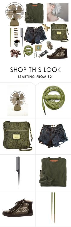 """226. Grunge"" by sollis ❤ liked on Polyvore featuring Urbanears, Nicole By Nicole Miller, Levi's, H&M, Chanel, Crate and Barrel, Laundry, Sandisk, Clips and vintage"