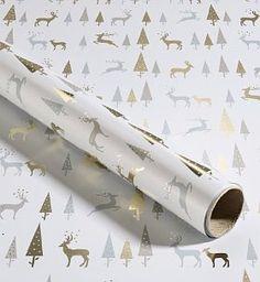Metallics : Marks & Spencer Gift Wrap #holidayentertaining