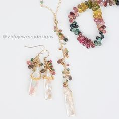 Tourmaline Jewelry, My Design, Bracelets, Instagram, Bracelet, Arm Bracelets, Bangle, Bangles, Anklets