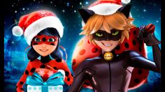 Miraculous Ladybug Christmas Ladybug and Super Cat Noir