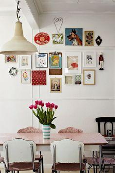 Artist, Paula Mills Melbourne home tour | Miss Design