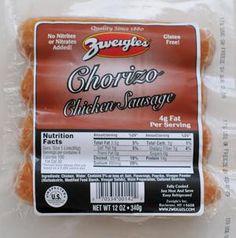 Zweigle's Chorizo Chicken Sausage