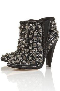 593d7758b75f STYLE ✢ Viva México   Charro Boots Olé Fashion Boots, Jimmy Choo, Ankle