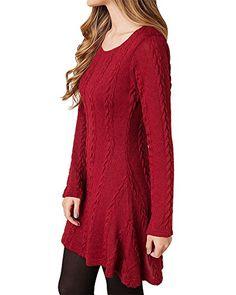 HAPEE Women's Crewneck Knitted Long Sleeve Sweater Dress,... https://smile.amazon.com/dp/B01JREC660/ref=cm_sw_r_pi_dp_x_u1gsyb5CTY8YT