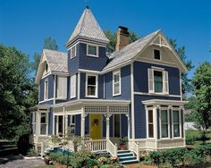 Image result for white and blue house exterior
