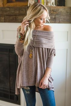 Convertible Off Shoulder Tunic