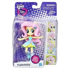 My Little Pony Equestria Girls Minis School Dance Fluttershy Poseable doll can strike cute poses Adorable mini size to take on the go Imagine friends. My Little Pony Dolls, All My Little Pony, My Little Pony Friendship, Toys For Girls, Kids Toys, My Little Pony Collection, Pony Style, School Dances, Little Pets