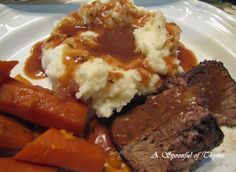A Spoonful of Thyme: Strasbourg Rooftops and Red Wine Pot Roast with Ho...