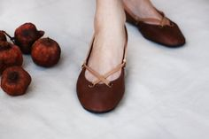 Hey, I found this really awesome Etsy listing at https://www.etsy.com/listing/90582176/the-pomegranate-handmade-leather-ballet