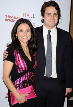 Julia Louis-Dreyfus, Son Thank Fans After Breast Cancer Diagnosis Stock Pictures, Stock Photos, Julia Louis Dreyfus, A Day In Life, Royalty Free Photos, Breast Cancer, Celebrity News, Sons, Blazer