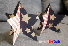 Super Cute Kids Craft for the 4th! #waywardgirlscrafts