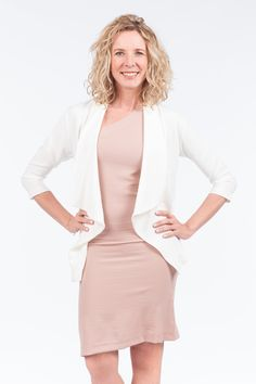 Take your look to the next level with this lapel sleeve jacket. This Jacket is a combination of quality and style. It features an open front, 3 quarter sleeves, and is a breathable fit. Quarter Sleeve, Essentials, Dresses For Work, Fit, Clothing, Sleeves, Jackets, Style, Fashion