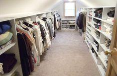 Stunning ganze famile ankleidezimmer dachschr ge Begehbarer KleiderschrankAnkleidezimmerSchr nkenDachboden LagerungDachboden SchrankKleine