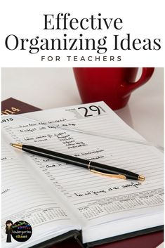 Effective Organization Ideas For Teachers