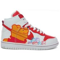 super popular 58570 dc17f Nike Dunk High Womens Winnie Big Pooh Edition K02057